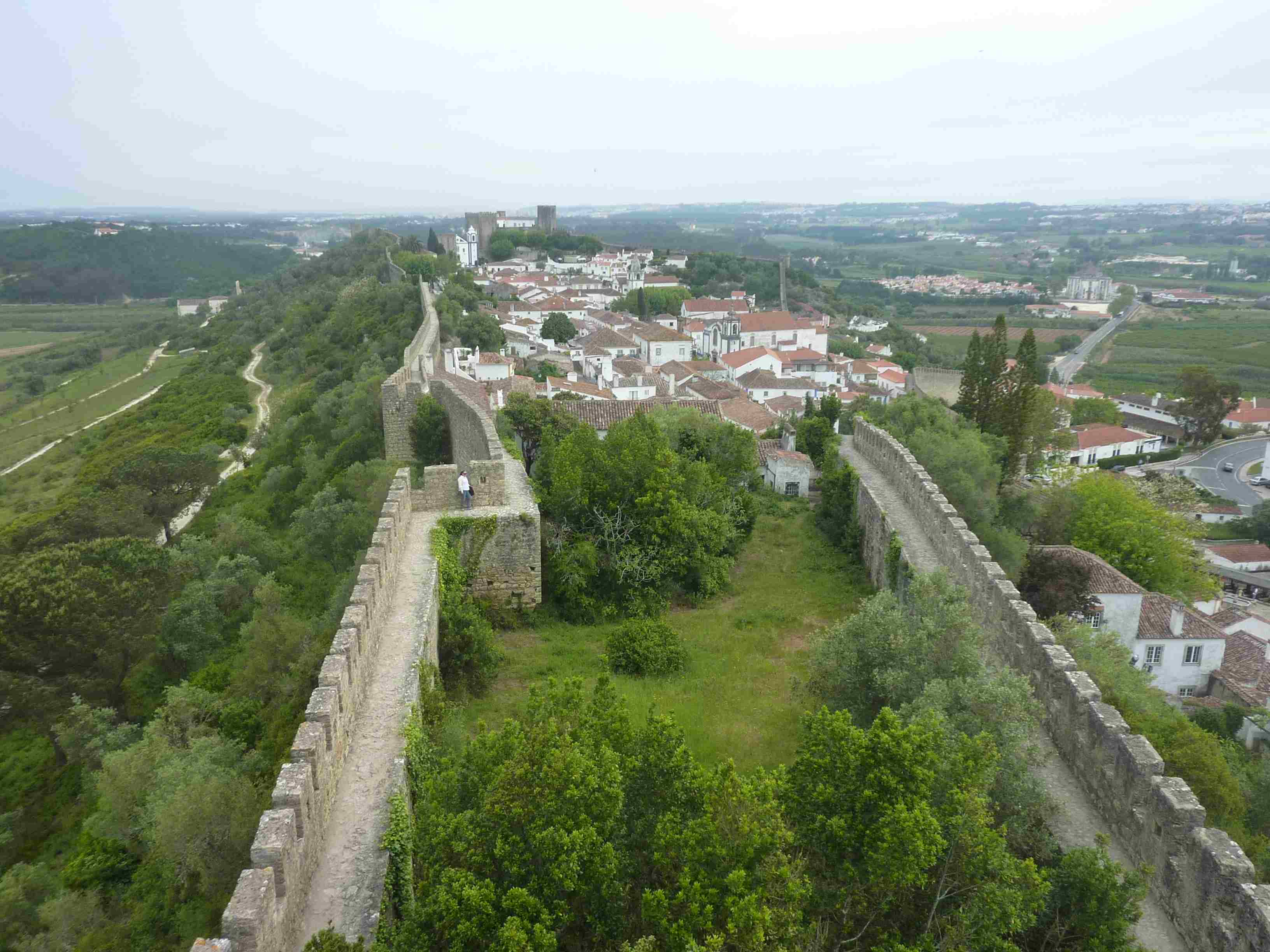 Obidos, Portugal Rundreise mit Kind